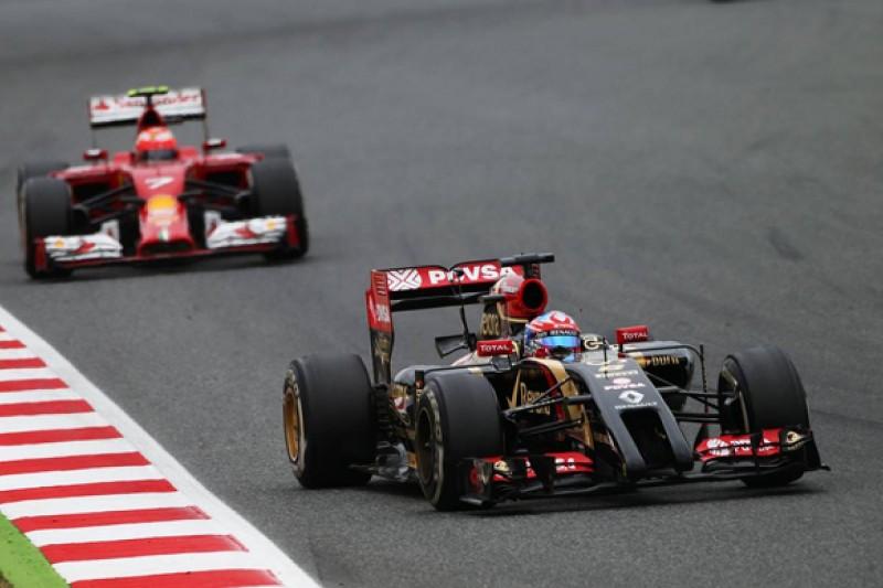 Spanish GP: Romain Grosjean hampered by Renault sensor failure