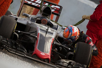 Haas F1 team suffers brake-by-wire problems in Barcelona testing