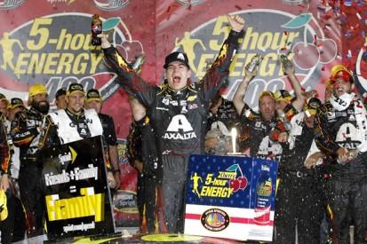 Kansas NASCAR: Jeff Gordon scores his first win of 2014