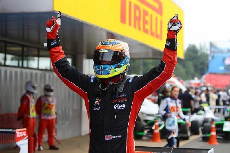 Barcelona GP3: Dean Stoneman takes first series victory