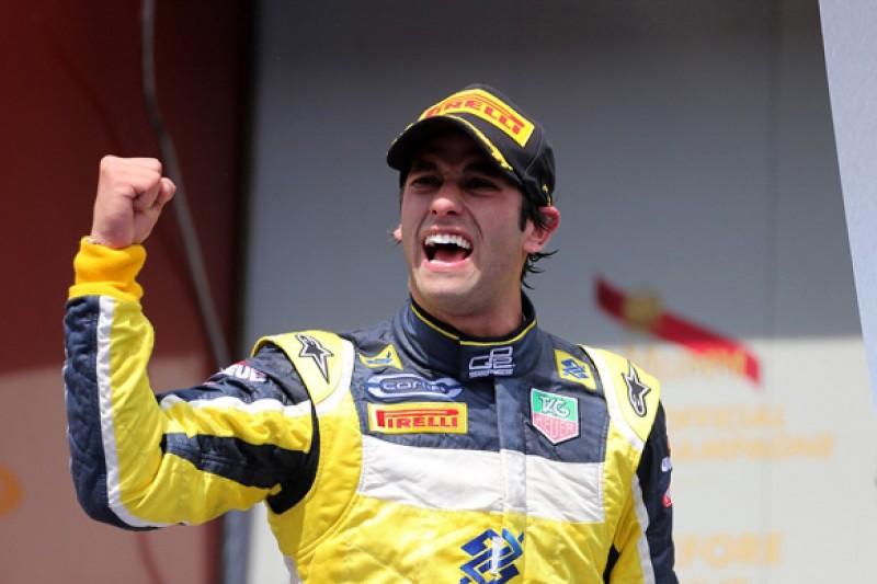 Barcelona GP2: Felipe Nasr beats Jolyon Palmer to claim first win