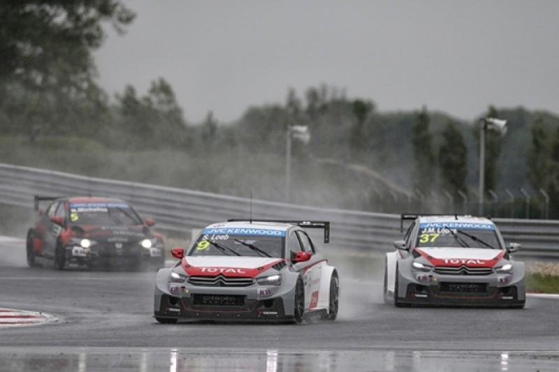 Slovakia WTCC: Sebastien Loeb wins rain-affected race