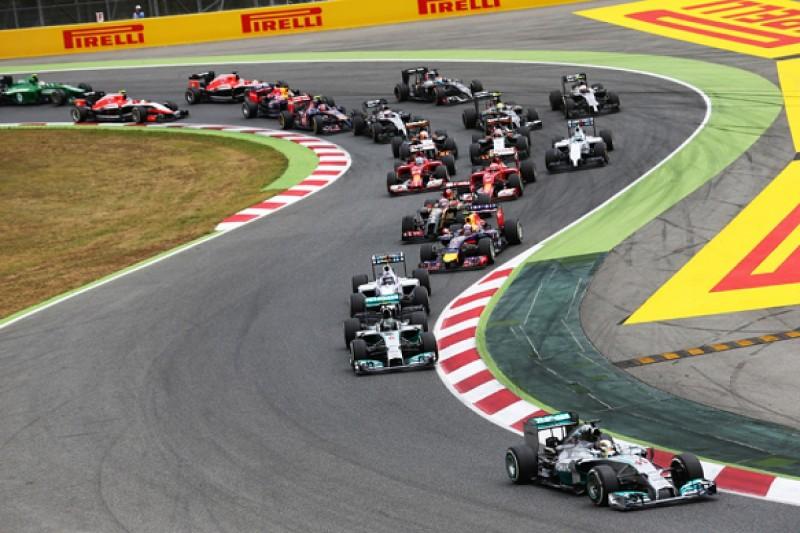 Spanish GP: Lewis Hamilton denies Nico Rosberg in F1 thriller