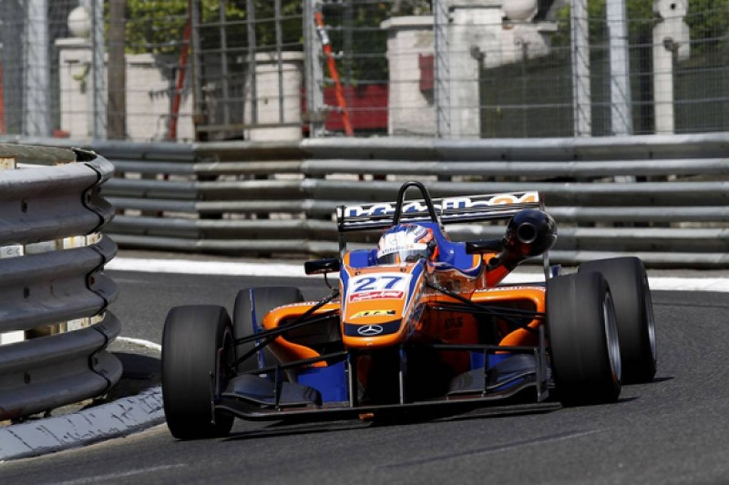 Pau European F3: Felix Rosenqvist cruises to first win of 2014