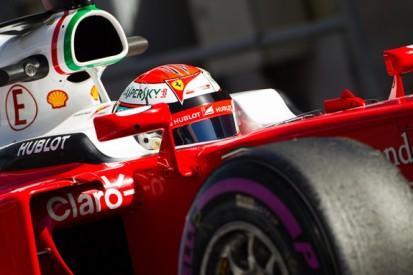 Barcelona F1 test: Kimi Raikkonen and Ferrari top Thursday running