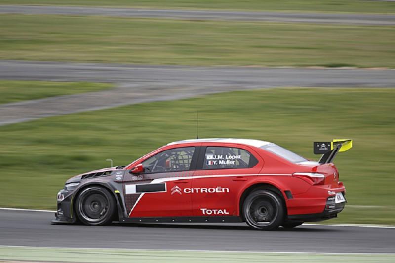 Vallelunga WTCC test: Jose Maria Lopez fastest for Citroen