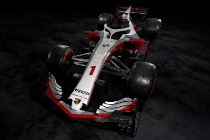 What a Porsche Formula 1 car could look like