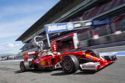 Barcelona F1 test: Kimi Raikkonen tops morning on ultra-softs