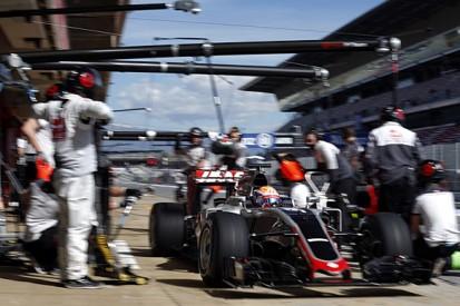 Haas's Romain Grosjean puzzled by Barcelona F1 test incident