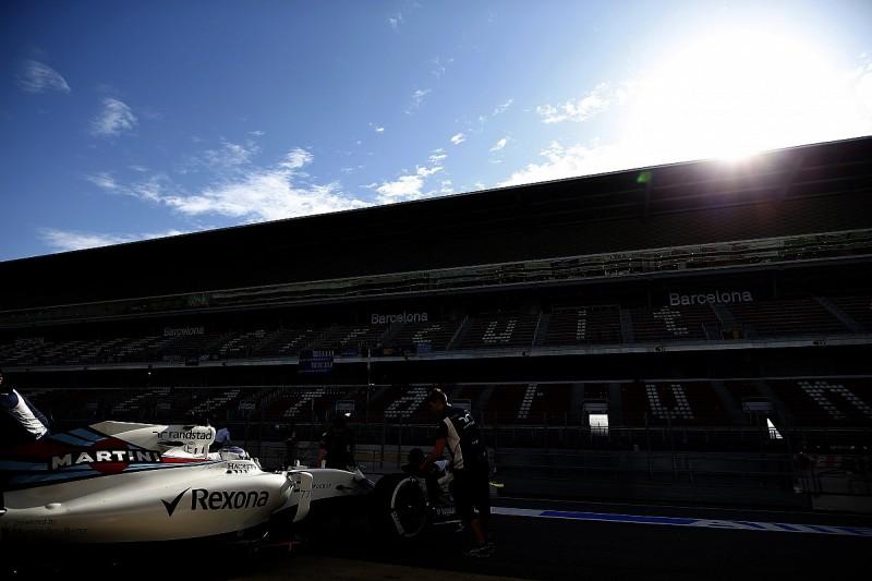 Barcelona F1 test: Bottas puts Williams on top on super-softs