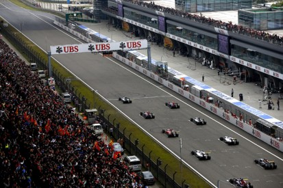 Formula 1 drivers get formation lap behaviour warning