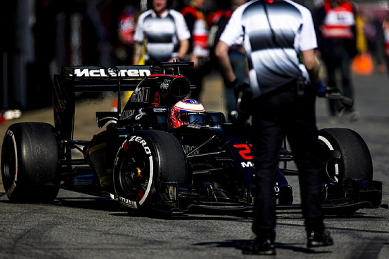 McLaren 'not there yet' on car set-up in Barcelona F1 testing