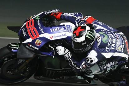 Jorge Lorenzo leads first night of MotoGP's Qatar test