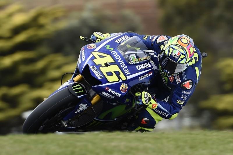 Valentino Rossi explains poor Phillip Island MotoGP practice pace