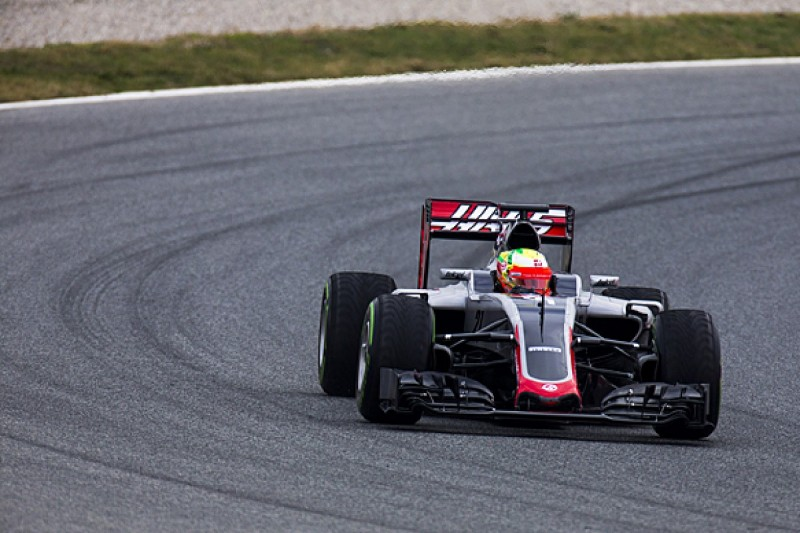 Haas F1 team sidelined for rest of Wednesday's Barcelona test