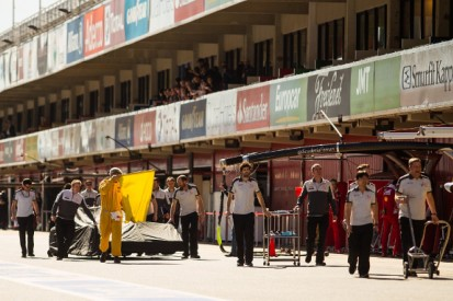 Haas Formula 1 team to work overnight to solve fuel system problem