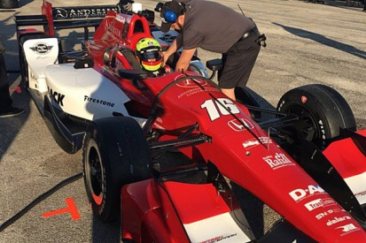 Indy Lights champion Pigot has first run with Rahal IndyCar team