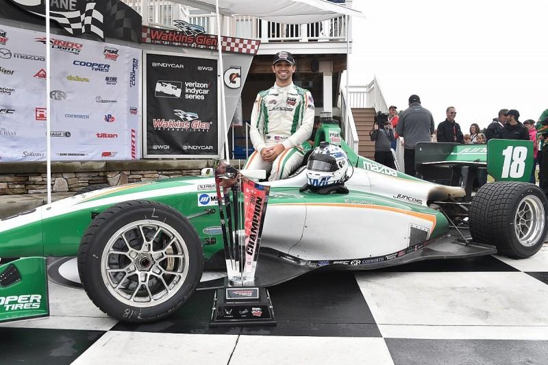 Indy Lights champion Kaiser gets part-time Juncos 2018 IndyCar seat