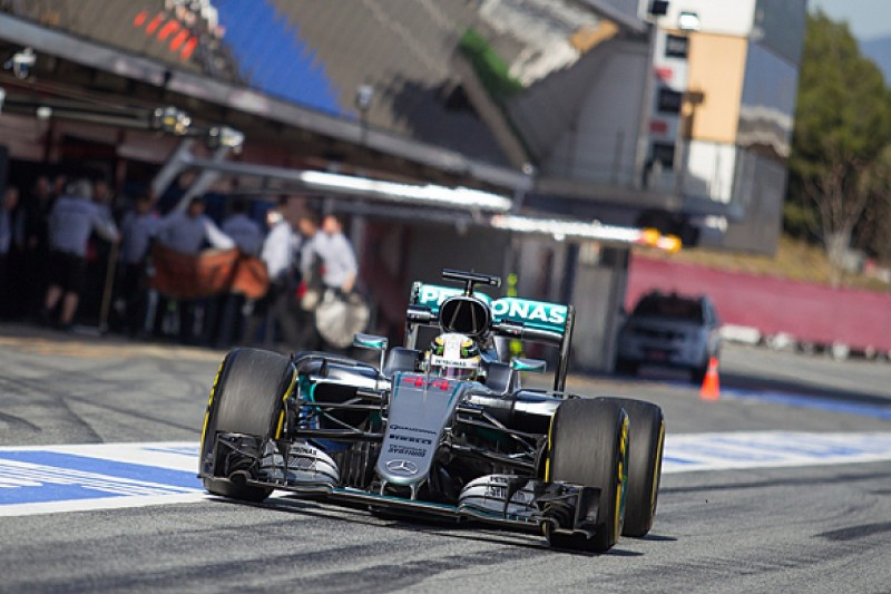 Wolff: Mercedes making its 'best start' to F1 tests of recent years