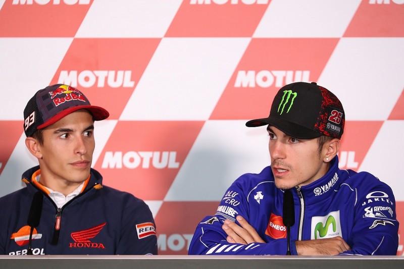 Marc Marquez: Maverick Vinales is still a MotoGP title threat too