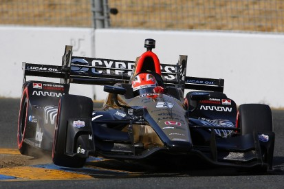 James Hinchcliffe stays with SPM to partner Robert Wickens in IndyCar