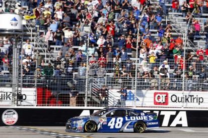 NASCAR Atlanta: Johnson beats Earnhardt to take first win of season