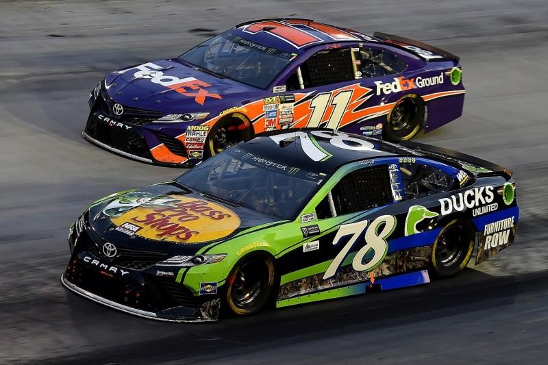 Truex benefits from smaller NASCAR Cup team - Denny Hamlin