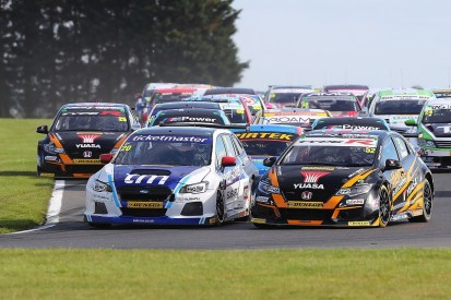 Extended double-points Snetterton race added to 2018 BTCC calendar