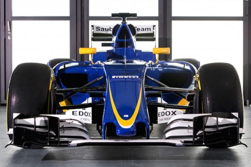 Sauber launches delayed C35 for 2016 Formula 1 season