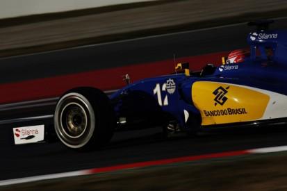 Running 2015 F1 car in first Barcelona test won't hurt, Sauber says