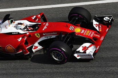 F1 test round-up: Ferrari gets the glory, Mercedes gets the miles