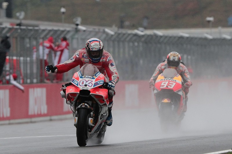 'Strange' MotoGP title fight with Marquez leaves Dovizioso relaxed