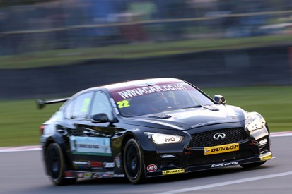 Support Our Paras Infiniti team pulls out of British Touring Cars