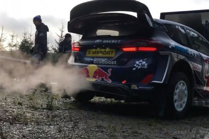 Watch action from Rally GB WRC M-Sport and Hyundai testing