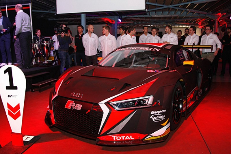 Vanthoor brothers team up at WRT Audi in Blancpain GT