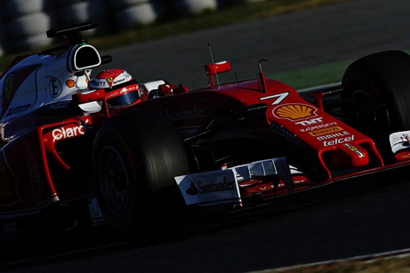 Kimi Raikkonen tops final day of first 2016 Barcelona F1 test