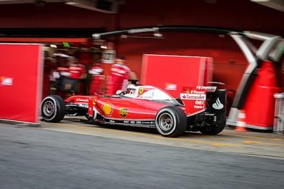 Ferrari had hoped for higher mileage in first F1 test - Raikkonen