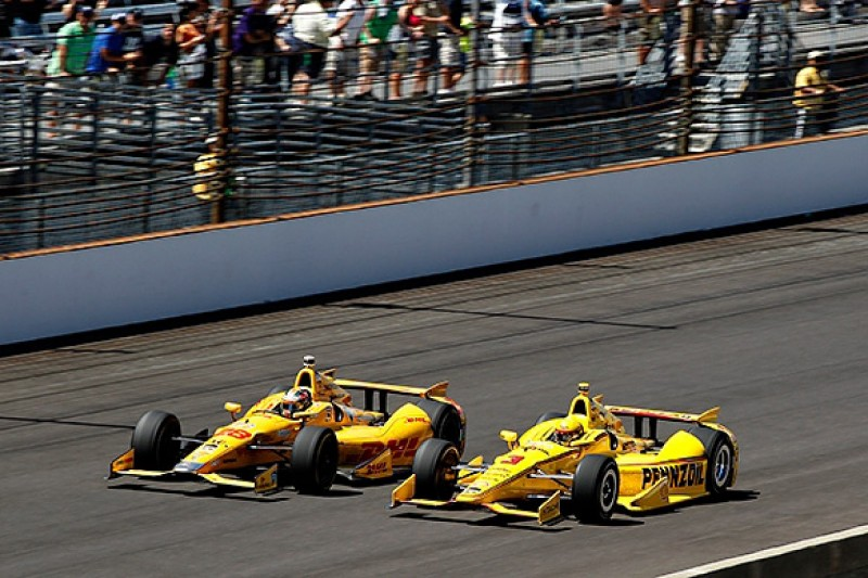 Hunter-Reay feared Castroneves would steal Indianapolis 500 win