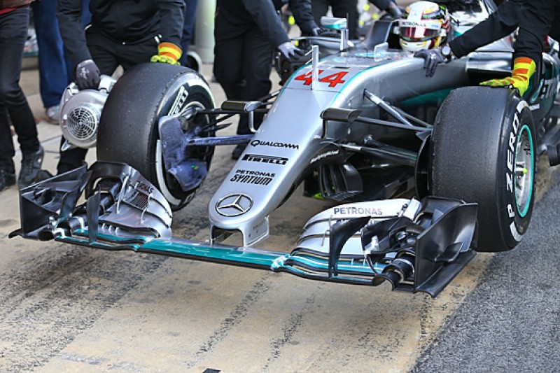 Analysis: How innovative is Mercedes' new Formula 1 nose?