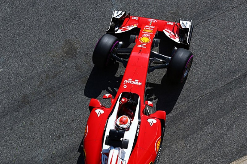 Kimi Raikkonen fastest for Ferrari as final day of F1 testing starts