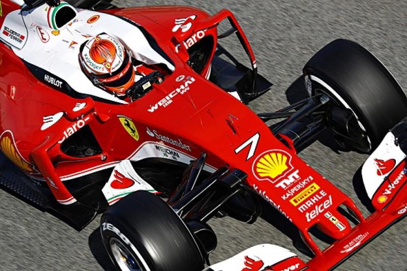 Kimi Raikkonen happier with Ferrari's 2016 Formula 1 car