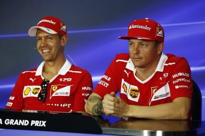 Vettel: Raikkonen's lack of politics makes him best team-mate