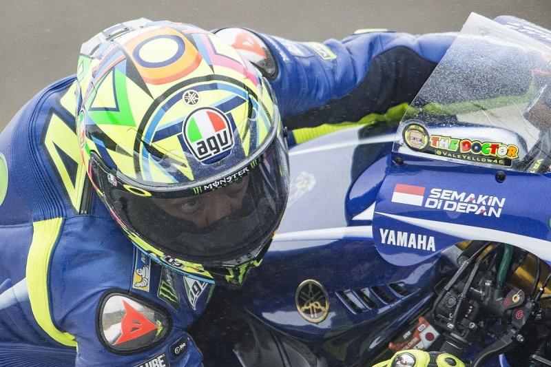 MotoGP Motegi: Rossi 'lucky' to avoiding further injuries to leg