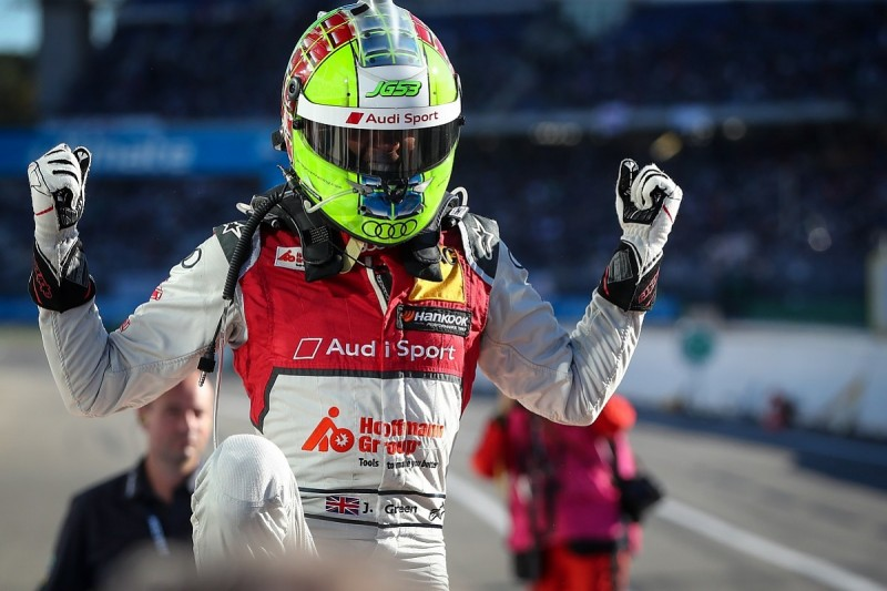 DTM Hockenheim: Green into title contention with race one victory