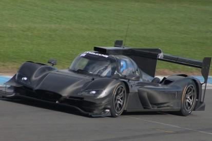 Mazda and Joest shakedown RT24-P 2018 IMSA car at Donington Park