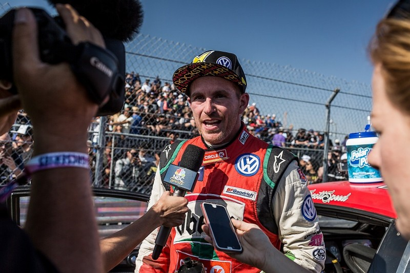 Speed secures third Global Rallycross title, Foust wins finale
