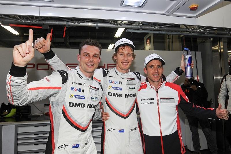 WEC Fuji: Bamber, Hartley snatch pole from sister Porsche