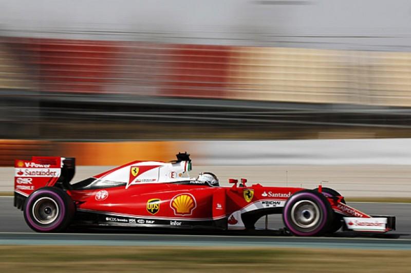 Barcelona F1 test: Sebastian Vettel fastest again on day two