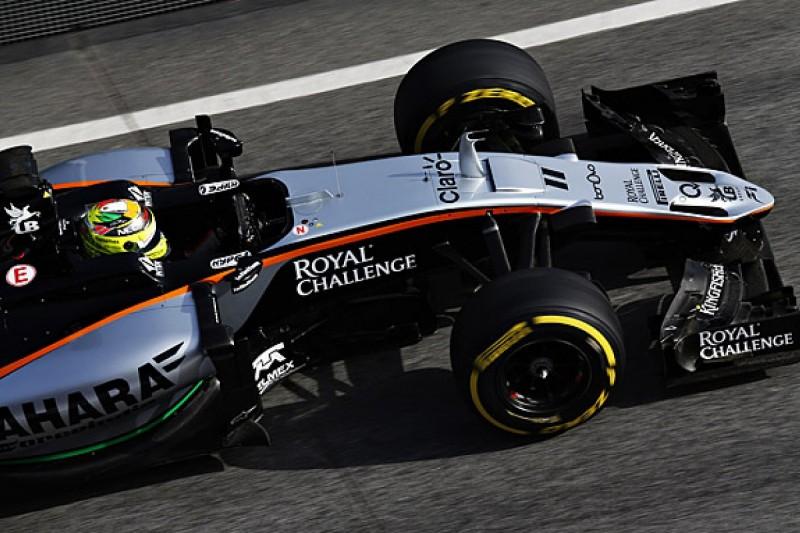 New Force India F1 car has big potential - Sergio Perez