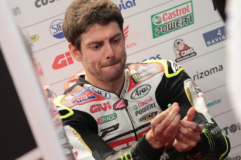 MotoGP Motegi: 'Pissed off' Crutchlow 'can't ride' 2017 Honda in wet